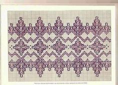 Swedish Embroidery, Towel Embroidery, Types Of Embroidery, Machine Embroidery Designs, Embroidery Stitches, Embroidery Patterns, Cross Stitch Borders, Cross Stitch Patterns, Swedish Weaving Patterns
