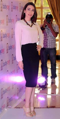 Karishma Kapoor....gorgeous outfit, except for the shoes