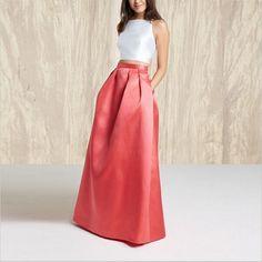 Bardouilles  Chic Long Elegant Skirt