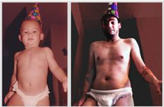 25 of the Most Hilarious Recreated Childhood Photos (PHOTOS)