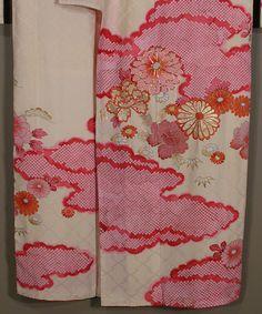Early 20th century Kimono detail