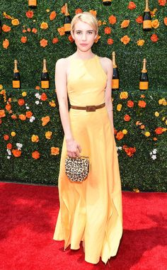 Yellow Not Mellow from 2016 Golden Globes: Best Style Moments from Snubbed Stars | E! Online