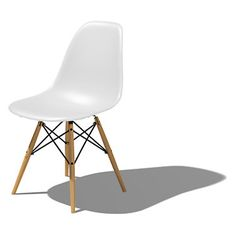 Eames Dowel Leg Side Chair I would also like these for my dining room chairs