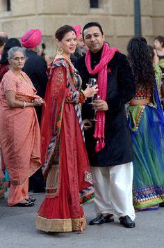 El lujo y la extravagancia llegan a Barcelona con la gran boda india - Foto 12