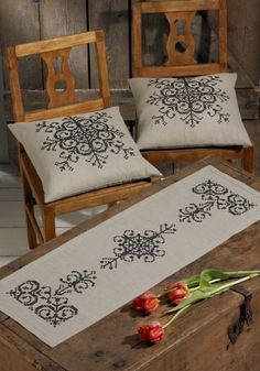 This Pin was discovered by sev Diy Embroidery, Cross Stitch Embroidery, Embroidery Patterns, Hardanger Embroidery, Cross Stitch Designs, Cross Stitch Patterns, Palestinian Embroidery, Cross Stitch Flowers, Cross Stitching