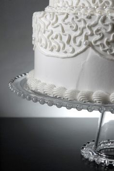 """13"""" Pedestal Clear Glass Cake Stand $14.99 each/ 3 for $14 each"""