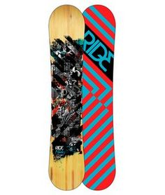 With the Ride Manic Wide Snowboard you don't have to sacrifice fun while you're waiting to progress your riding. The All Mountain Rocker, medium flex and smooth-riding Slimewalls of the Manic Wide allow you to enjoy everything the mountain has to offer right now.