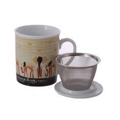 Shakwe African Big Game Mugs - Cup of Tea Ltd