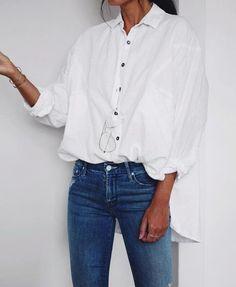 white tunic #casual #styleblogger