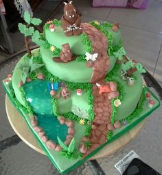 Have never seen a Gruffalo cake like this before!
