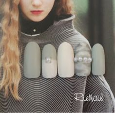 Life with Lin-chan: Army print nails for fall 2014/winter 2015  Grey white army nails