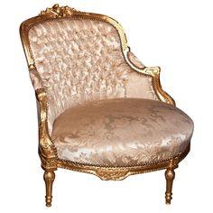 French Louis XVI Style Corner Chair 102