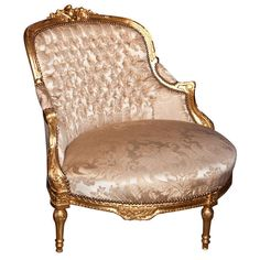 French Louis XVI Style Corner Chair 102