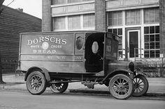 Dorsch's White Cross Bread Delivery Truck
