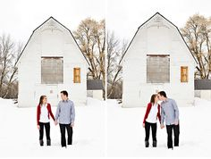 Pretty much everything this couple did, I loved.  Once again, same barn background, loving this.