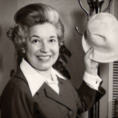 Ebby Halliday just turned 104. In 1945 Ebby started her own boutique, Ebby's Hats. Her designs were mostly bought up by wealthy Dallas women.