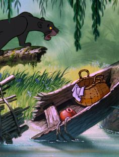 One of my earliest Disney memories, Bagheera from The Jungle Book.