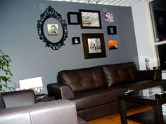 grey walls with brown furniture. good questions what color pillows for our sofas grey walls with brown furniture