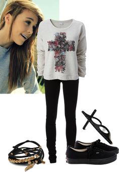 """""""OOTD"""" by acacia-clark-xoxo ❤ liked on Polyvore"""