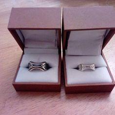 18k yellow white Pixelated Heart Ring Sterling Silver platinum- Geeky retro gamer engagement 14k rose gold palladium 10k Ladies