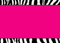 Free Printable Zebra Print Paper | Hot Pink Zebra Template by StacyO on deviantART