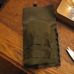 1000D Cordura nylon pouch in progress