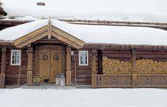 Зимняя сказка в Норвегии