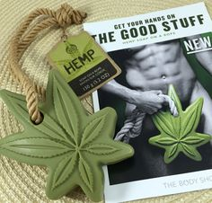 NEW! Hemp Soap on a Rope from The Body Shop | #soaponarope