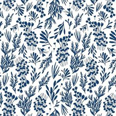 Blue + White = Happy I used the floral pieces from yesterday's pattern, made them solid blue and arranged them differently for today's #10_day_project pattern. Day 2/10. #delightedpatterns
