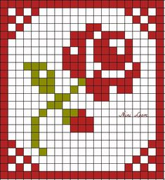 Hand quilting for beginners simple 30 ideas Mini Cross Stitch, Simple Cross Stitch, Cross Stitch Rose, Cross Stitch Borders, Cross Stitch Flowers, Cross Stitch Designs, Cross Stitching, Cross Stitch Patterns, Crochet Pixel