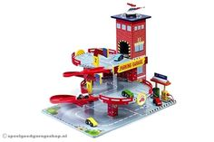 Houten Garage Janod : Houten garage met lift woody lövé :: kids toys pinterest woody