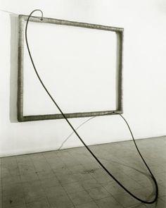 Hang Up - Eva Hesse - Conceptual Art, Post-Minimalism, 1966 Eva Hesse, Abstract Sculpture, Sculpture Art, Action Painting, Hung Up, Textile Artists, Conceptual Art, Art Object, Online Art