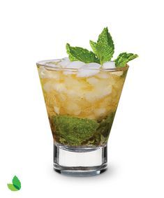 Champagne Julep Recipe with Truvía® Natural Sweetener