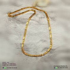 Image may contain: text Gold Chain Design, Gold Ring Designs, Gold Bangles Design, Jewelry Design Earrings, Gold Jewelry, Gold Chain Indian, Gold Chain Choker, Gold Bracelet For Women, Gold Chains For Men