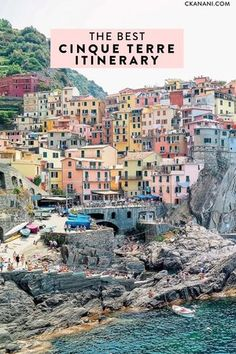 The best Cinque Terre itinerary: everything you need to plan your Italy trip! A guide to the 5 villages, where to stay, what to do, and more. Italy Travel Tips, Travel Destinations, Travel Info, Travel News, Travel Guide, Italy Vacation, Italy Trip, Italy Tours, Visit Italy