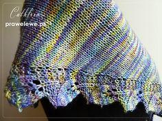 Leafy shawl in Malabrigo || Szal listkowy z Malabrigo