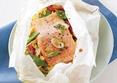 Ginger Salmon in Parchment Paper