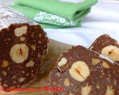 Il Pomodoro Rosso di MAntGra: Salame di cioccolato senza uova