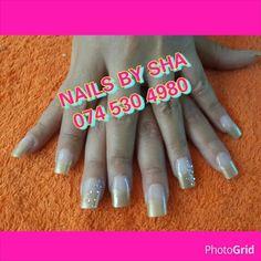 Gold Acrylic Tips Acrylic Tips, Nails, Gold, Finger Nails, Ongles, Nail, Yellow, Nail Manicure