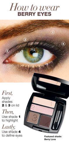 How to wear berry eyes #AvonCanada