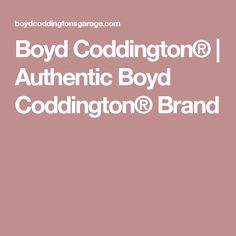 Boyd Coddington® | Authentic Boyd Coddington® Brand