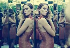The Emily Blunt Harper's BAZAAR Australia Feature is Ladylike #hollywood #hair trendhunter.com