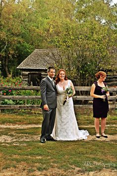 September,14th 2013 -Wedding of,Kimberly & Timothy. With Bridesmaid,Jessica.  Photo property of,TJS-Photography.