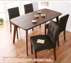北欧スタイルダイニングテーブル椅子5点セットキッチン インテリア 雑貨 家具 Modern dining table ¥62790yen 〆05月05日
