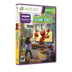 Sesame Street TV for XBOX 360 Kinect - Microsoft