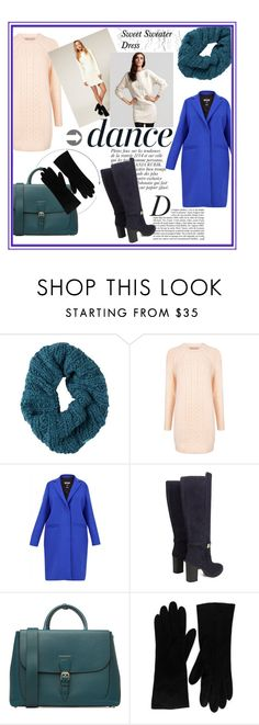 """""""Sweet sweater dress"""" by sherrlie ❤ liked on Polyvore featuring Burton, Anja, Paul & Joe Sister, MSGM, Tod's, Burberry, Christian Dior, women's clothing, women's fashion and women"""
