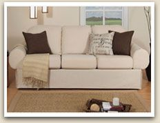 Home Reserve... great sofas/chairs for apartment living: they come apart and re-assemble for easy moving, & they have storage under the seating, & the covers come off to wash or change your look!