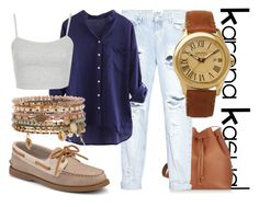 """KarenaKasual-Kampus Kasual #1"" by nesyagata on Polyvore"