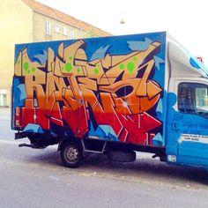 @greatbates #Bates #156 #Copenhagen #van #art #travels #photos #steam156 by steam156