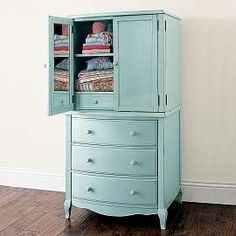 Heirloom Blue Lilac Chiffonier    ⊱ℭindℽ ℳoor℮⊰ onto Elements of Design